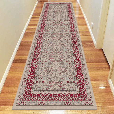 Diamond Collection 6881 Beige Hallway Runner