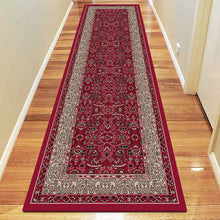 Diamond Collection 6881 Red Hallway Runner