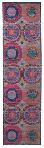 Ella 916 Multi-colour Hallway Runner
