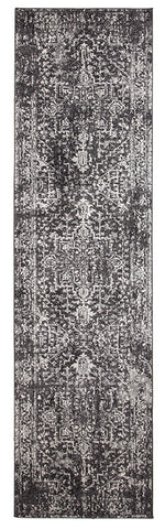 Eclipse 253 Charcoal Hallway Runner