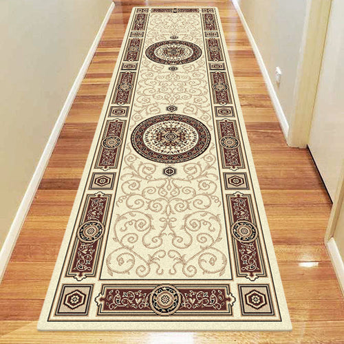 Empire Collection 7647 Cream Hallway Runner