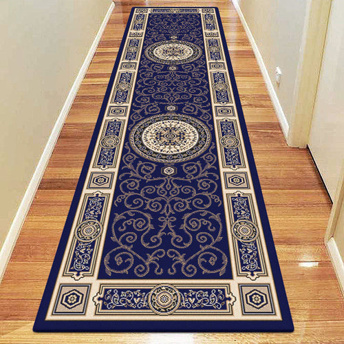 Empire Collection 7647 Dk Blue Hallway Runner