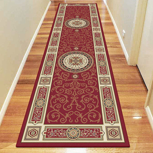 Empire Collection 7647 Red Hallway Runner