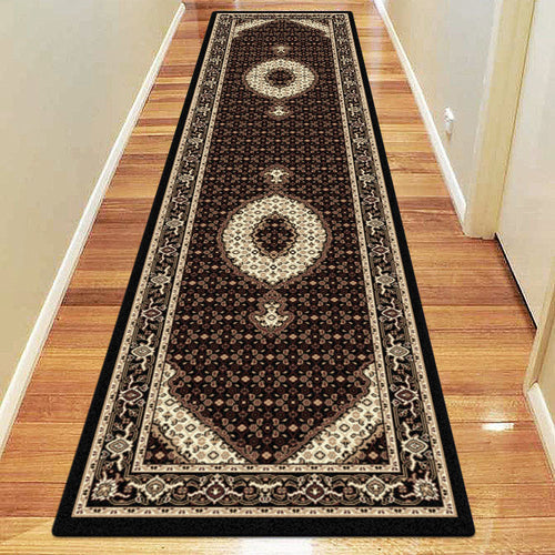 Empire Collection 7650 Black Hallway Runner
