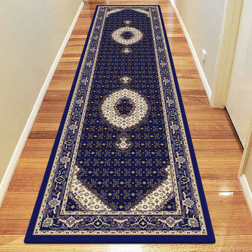 Empire Collection 7650 Dk Blue Hallway Runner