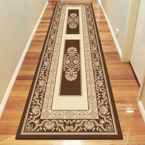 Empire Collection 7652 Brown Hallway Runner