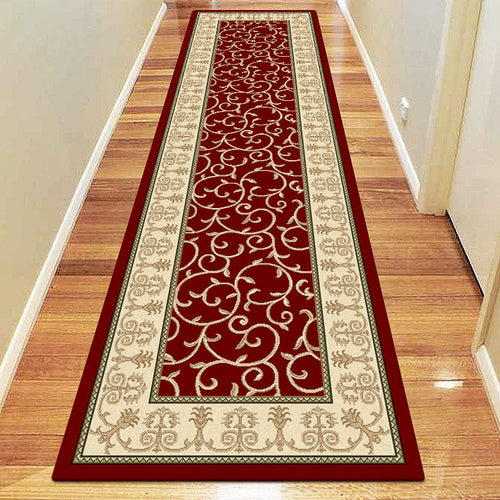 Empire Collection 7653 Red Hallway Runner