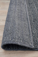 Howard 801 Charcoal Wool and Viscose Rug
