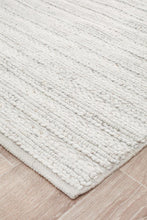 Howard 801 Ivory Wool and Viscose Rug