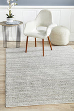 Howard 801 Silver Wool and Viscose Rug