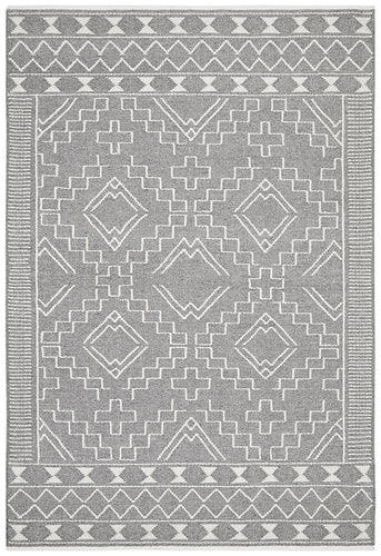 Amber 802 Grey Wool Rug - star-rugs