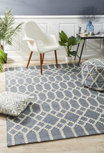 Amber 805 Blue Natural Rug - star-rugs
