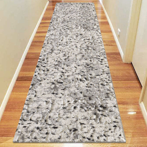 Elegant 9699 Light Grey Hallway Runner