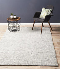 Lapa Black Wool Rug