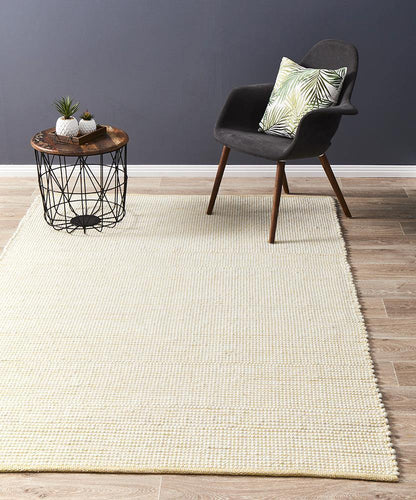 Lapa Yellow Wool Rug