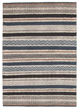 Bonita 732 Denim Wool and Viscose Rug