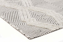 Bonita 741 Bone Wool and Viscose Rug