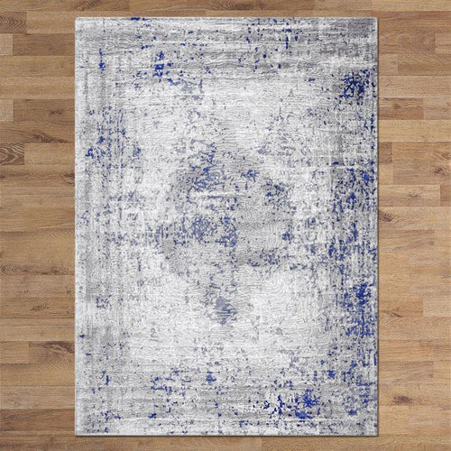 Montreal 8601 Blue Rug