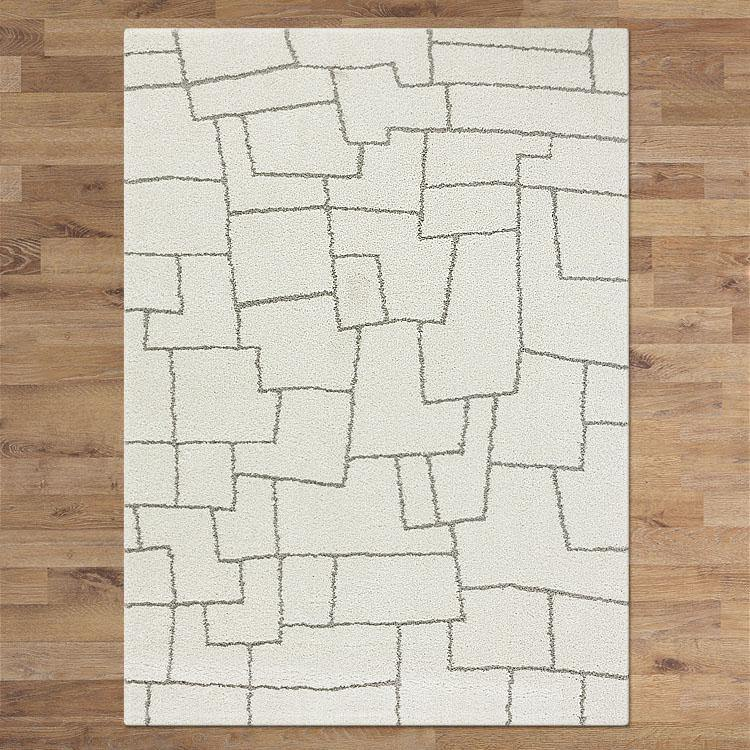 Orlando 338 cream  soft Shaggy Rug