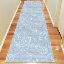 Polo Collection 3814 Blue Hallway Runner