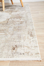 Relax Bamboo & Silk 110 Stone Rug