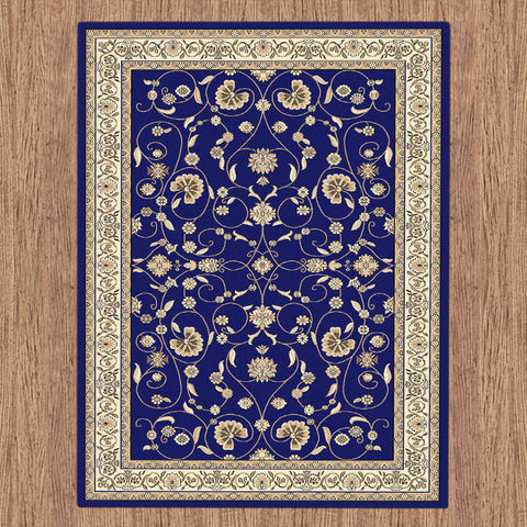 Oriental Collection 8001 Dk Blue