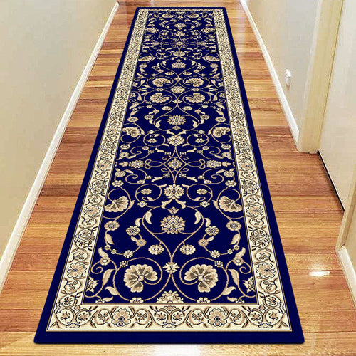 Oriental Collection 8001 Dk Blue Hallway Runner