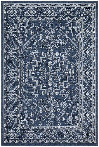 Outdoor Sea Navy Rug