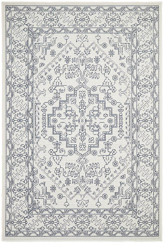 Outdoor Sea White Rug