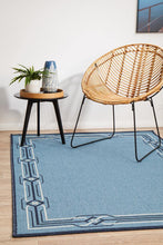 Outdoor Sea Blue Rug