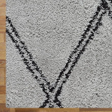 Sorento 329 Grey soft Shaggy Rug
