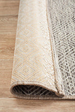 Outdoor Terrace  Natural Runner Rug