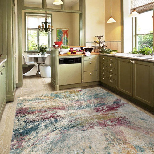 Urban Soft 676 Green Multi Rug