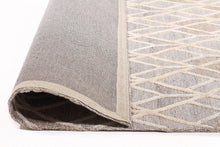 Fantasy 5058 Sand Wool and Viscose Rug