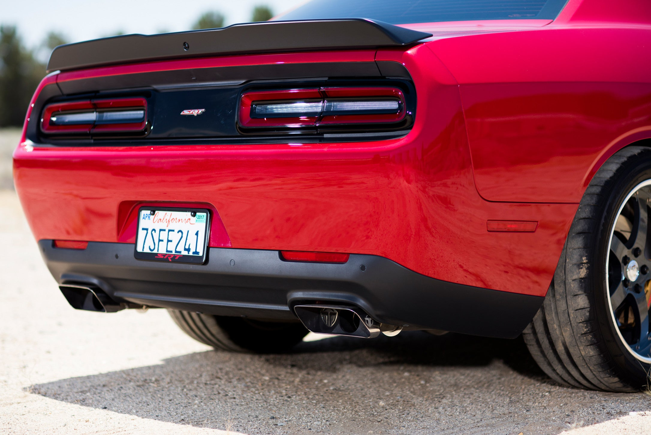 "2015 - 2019 - Dodge Challenger SRT & Hellcat - 3"" Catback Exhaust w/ Active Valves"
