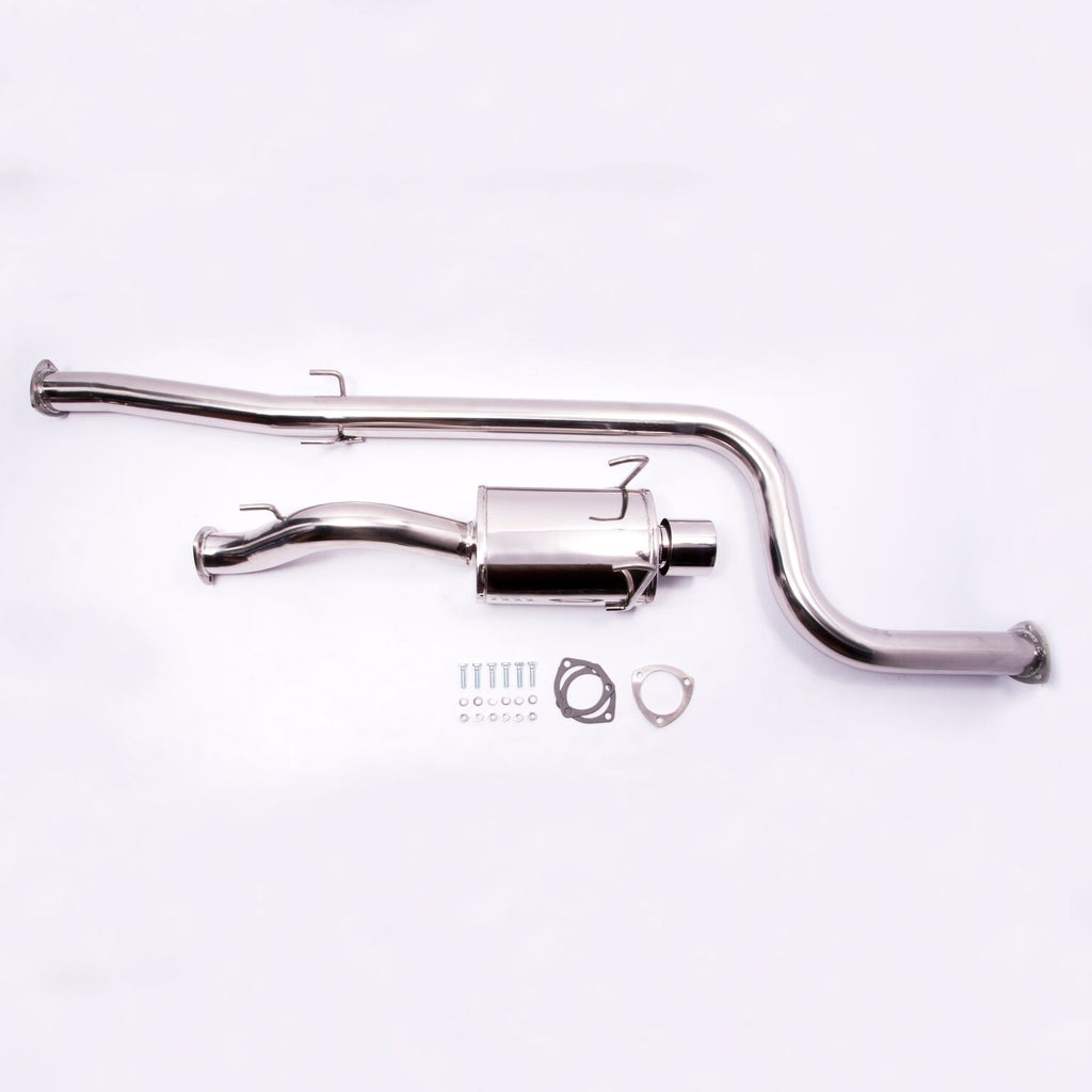 1992-1995 Honda Civic - 3Dr Hatch w/ Turbo  - Catback Exhaust