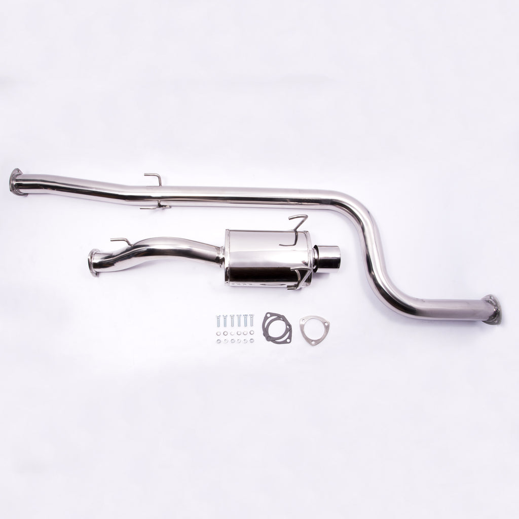 "1992-2000 Honda Civic 3"" Turbo - 2 Door & 4 Door - All Models w/ Turbo - Catback Exhaust"