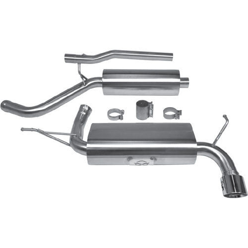 2012-2017 Jeep Wrangler JKU (4Door) - Catback Exhaust