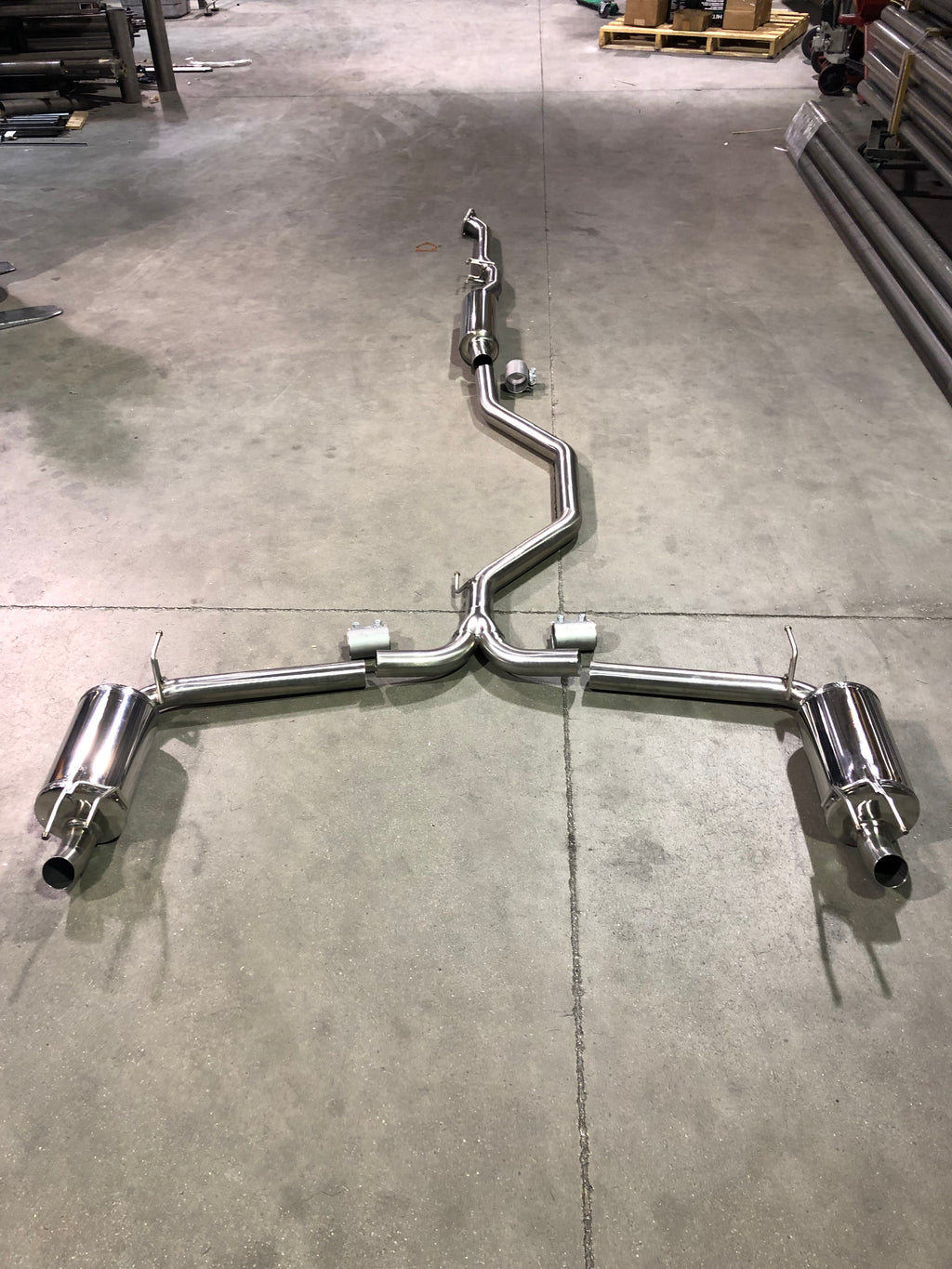 2018 Honda Accord Sport 2.0T Frontpipe-Back Exhaust