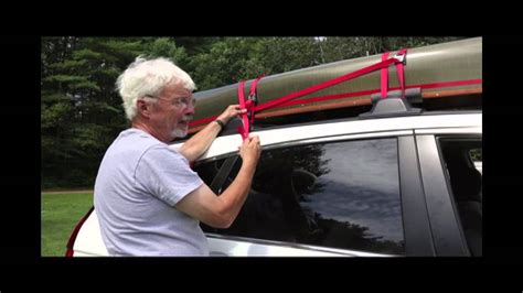 Securing Strap to a Car