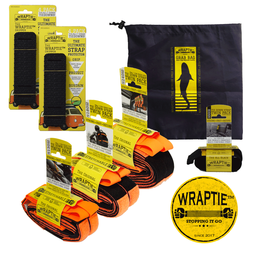 "The ""EXPEDITION"" Bundle (Wholesale) - WRAPTIE"