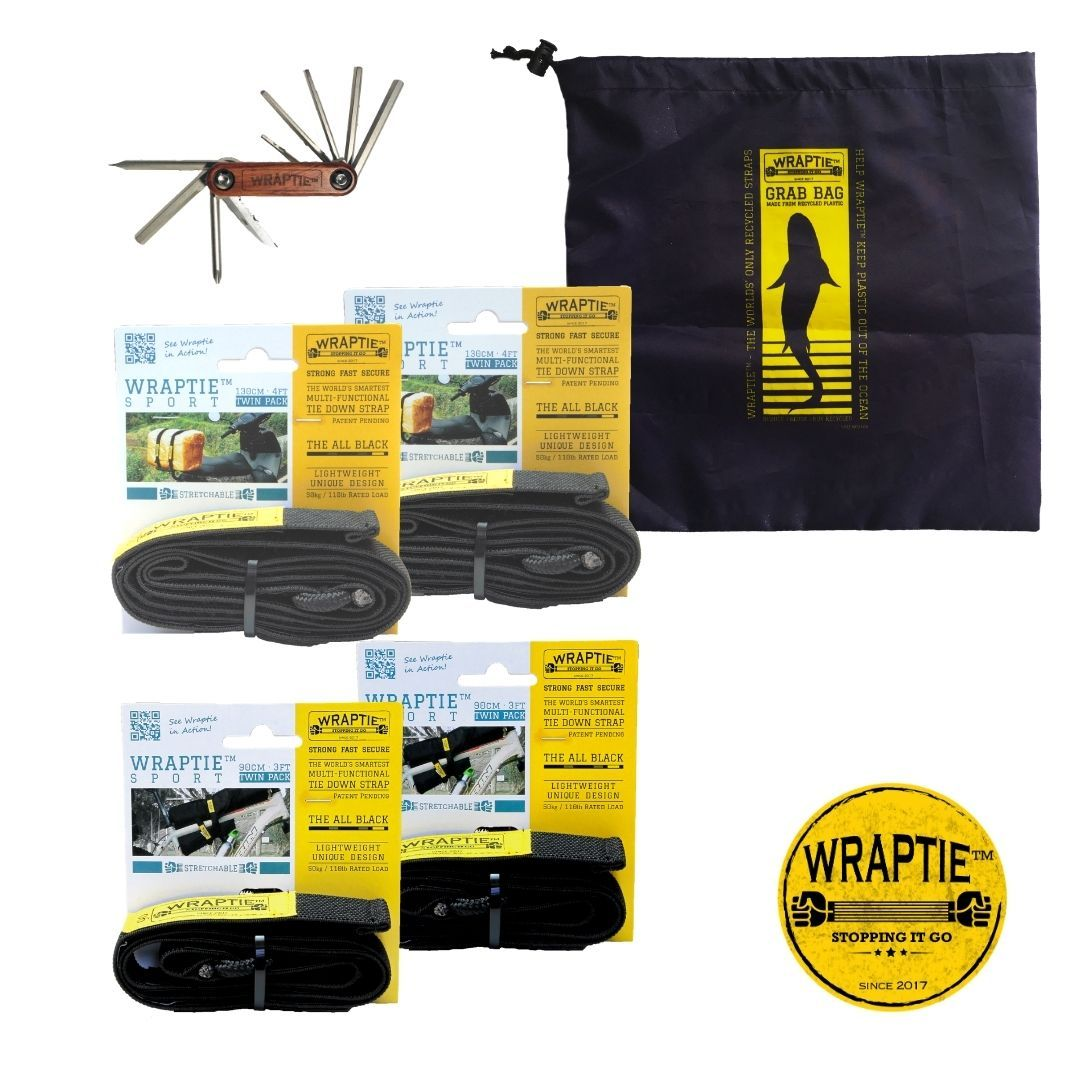"The ""RIDER"" Bundle (Wholesale) - WRAPTIE"