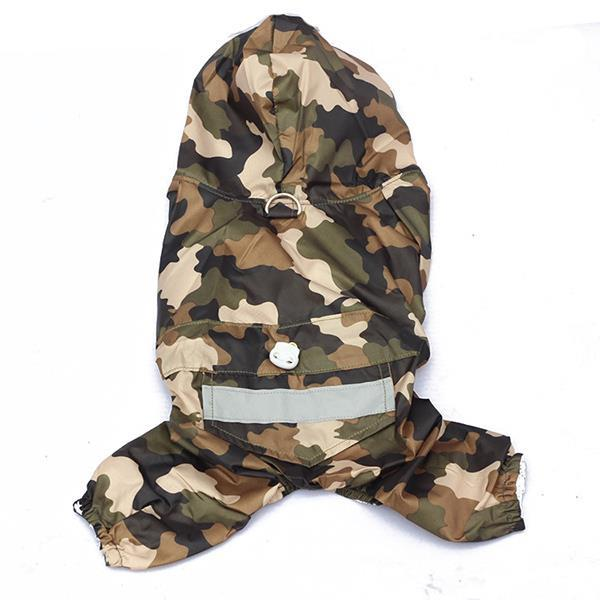 CAMO RAINCOAT - 21 Miracles