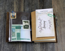 Junetree Handmade Vintage Traveler's Notebook Diary Journal Blank Leather Cover