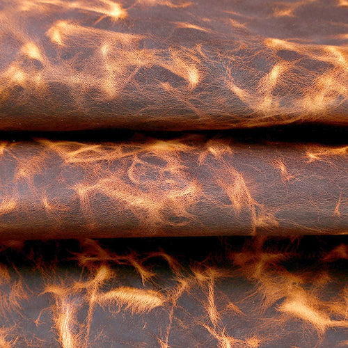 Junetree cowhide cow leather thick genuine leather about 1.6 mm cowhide vintage (about 100x 22cm)