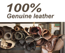 juneTree Passion Veg Tanned Leather Thick Genuine Leather About 3.5mm to 4.0mm Cowhide (4.314.1inch)