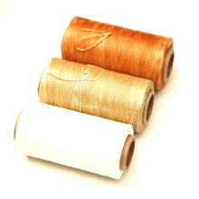 Leather Craft Sewing Waxed Thread Heavy Duty Waxed Sewing Waxed Coarse Whipping Thread 1mm Leather Hand Stitching 125g pack of 3