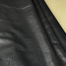 Junetree Sheep skin black  real grain leather quality A grade genuine leather soft leather for cloth glove leather craft