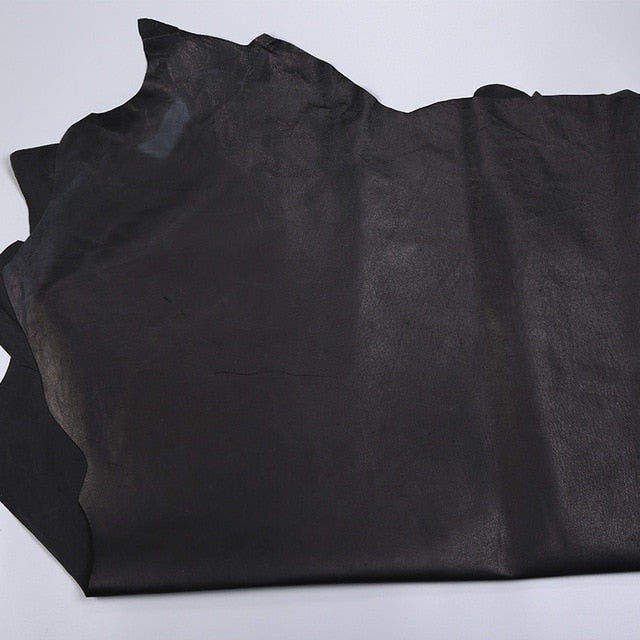Junetree pig leather hide pig skin genuine leather for leather craft -about 6-7sf
