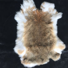 Junetree Nature Genuine rabbit fur Rabbit Skin  whole piece